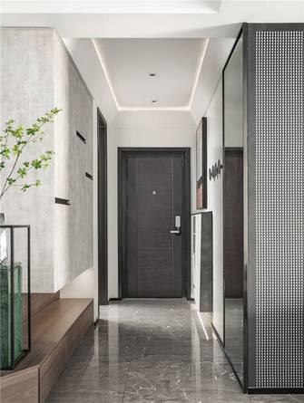 富裕型120平米三室两厅现代简约风格走廊图