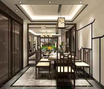 140平米四室一厅中式风格餐厅欣赏图