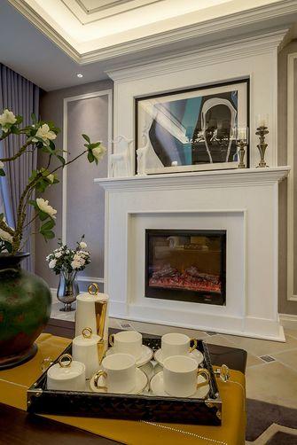 130平米四美式风格客厅图片