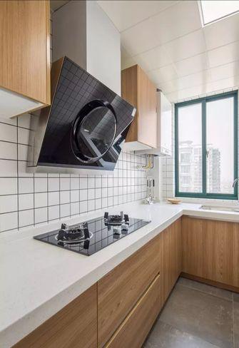 110平米三室两厅日式风格厨房装修效果图