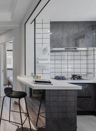 经济型三室一厅工业风风格厨房设计图