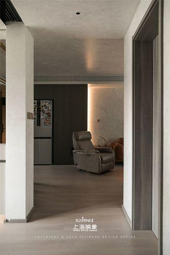 富裕型110平米三室两厅现代简约风格走廊设计图