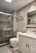 三室两厅欧式风格卫生间设计图