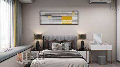 经济型80平米三室两厅现代简约风格卧室图片