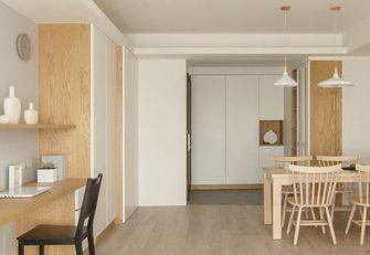 80平米三室两厅日式风格餐厅装修效果图
