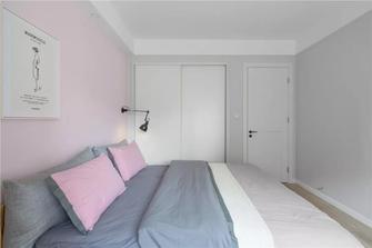 经济型100平米北欧风格卧室图片大全