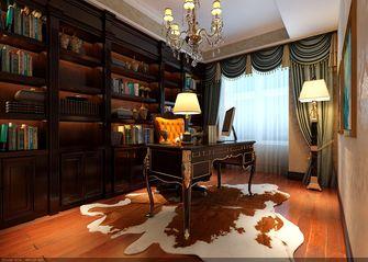 豪华型140平米四室两厅欧式风格书房装修案例
