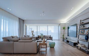140平米四室三厅轻奢风格客厅装修案例