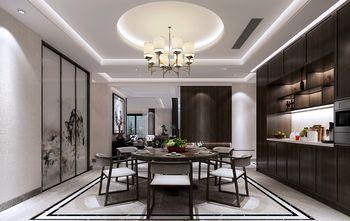 豪华型140平米别墅中式风格餐厅设计图