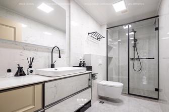 20万以上120平米四室四厅美式风格卫生间图片大全