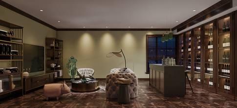 140平米别墅法式风格影音室图片