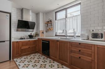 5-10万120平米三室两厅中式风格厨房图