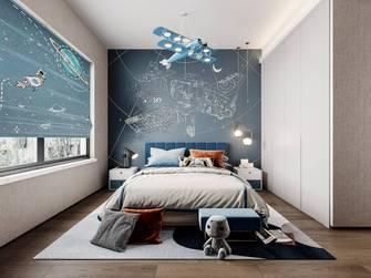 豪华型140平米四室两厅现代简约风格青少年房装修效果图