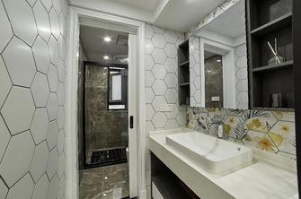 富裕型70平米公寓轻奢风格卫生间设计图