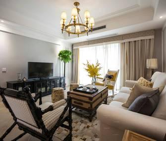 15-20万140平米四室四厅美式风格客厅图片大全