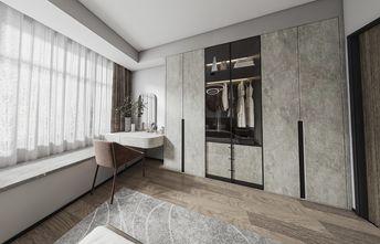 富裕型130平米三室两厅轻奢风格书房图