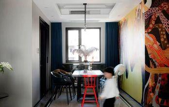 富裕型90平米三室两厅混搭风格餐厅设计图