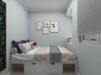 90平米三室两厅北欧风格卧室图片