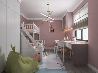 120平米四现代简约风格青少年房欣赏图