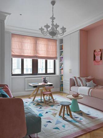 富裕型110平米三室一厅法式风格卧室欣赏图