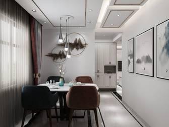 10-15万80平米三室两厅新古典风格餐厅装修图片大全