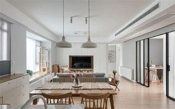 5-10万90平米三室两厅田园风格餐厅图片大全