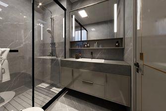 140平米三室一厅现代简约风格卫生间图
