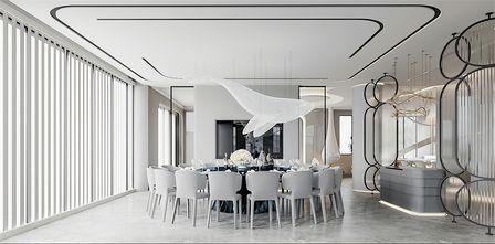 豪华型140平米别墅中式风格餐厅效果图