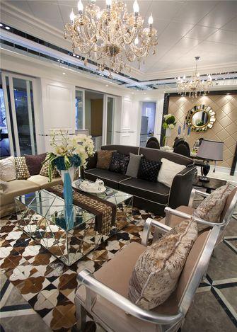 豪华型80平米法式风格客厅装修案例