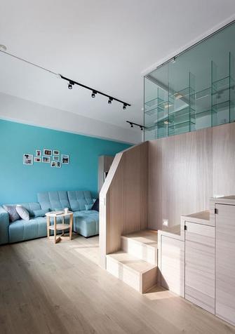 90平米三室两厅混搭风格楼梯间装修效果图