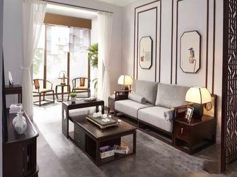 富裕型110平米三室三厅中式风格客厅图片大全