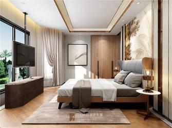 豪华型140平米复式现代简约风格卧室装修图片大全