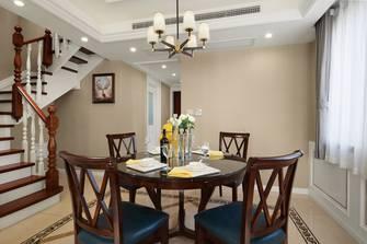 富裕型140平米四室三厅现代简约风格餐厅效果图