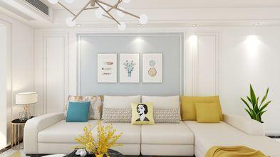 110平米三室两厅北欧风格客厅装修效果图