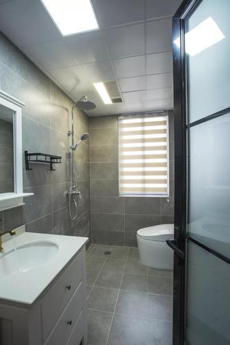 富裕型110平米三混搭风格卫生间设计图