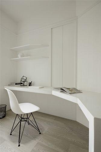 富裕型80平米三室两厅现代简约风格书房设计图