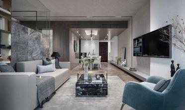 130平米四北欧风格客厅设计图