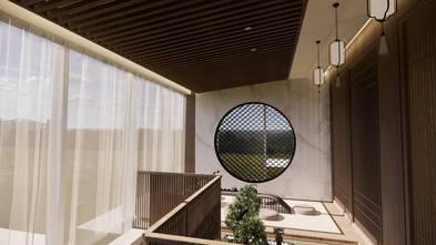 100平米公寓日式风格其他区域效果图