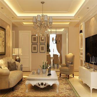 富裕型140平米三欧式风格客厅装修案例