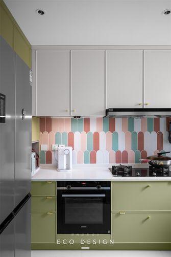 富裕型110平米三室两厅法式风格厨房设计图