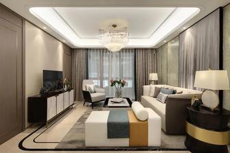 富裕型130平米三室两厅港式风格客厅装修效果图