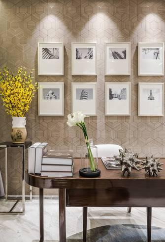 140平米四室两厅地中海风格书房图片大全