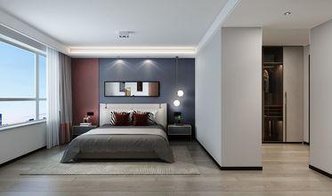 豪华型140平米三室三厅轻奢风格卧室图片大全