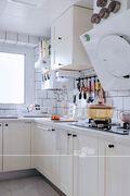 10-15万30平米小户型北欧风格厨房装修图片大全