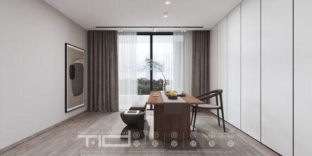 豪华型140平米复式现代简约风格书房装修案例