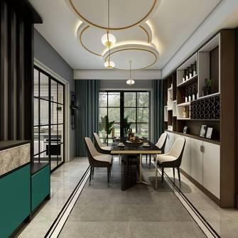 豪华型140平米四室一厅北欧风格餐厅装修效果图