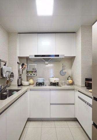80平米混搭风格厨房图