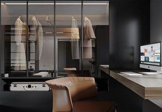 富裕型一室一厅工业风风格书房图片