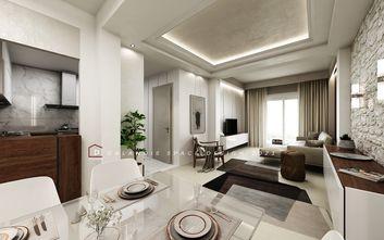 豪华型130平米三室两厅地中海风格客厅设计图