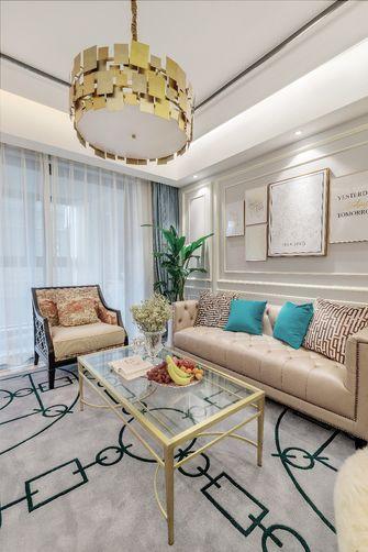 110平米三轻奢风格客厅图片